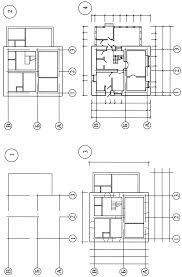 Методические указания по выполнению контрольной работы для  Порядок вычерчивания плана дома следующий