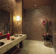 Flowers And Candles Bathroom Traditional With Wall Cutout - Candles for bathroom