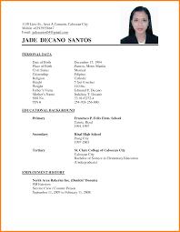 Resume Example Of Undergraduate Resume Ixiplay Free Resume Samples