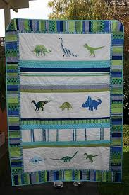 15 best Dinosaur quilt images on Pinterest | Cross stitching, Kid ... & Dinosaur quilt - dinosaurs, blues, greens, now to find the fabric. I Adamdwight.com