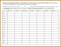 Class Schedule Excel Template Download Time Motion Study Excel Template Free Download And Skincense Co