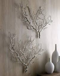 for tree branch wall decor by at now josiah square wood metal tree branch wall decor