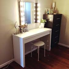 white makeup vanity with lights. vanities: big white makeup vanity large case full image for with lights b