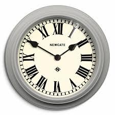 newgate the theatre wall clock grey