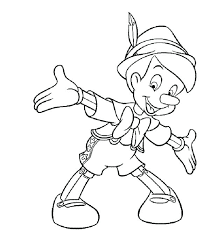 This Is Pinocchio Coloring Pages Images Happy Coloring Pages
