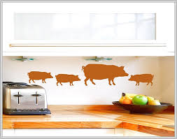 pig themed kitchen decor