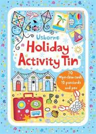 holiday activity tin usborne publishing ltd 9781409564782