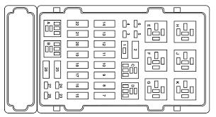 98 ford fuse box diagram diagram base Door Lock Wiring Diagram 2001 Ford E250 Van E350 Brake Light Wiring Diagram