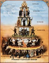 posters capitalism is a pyramid scheme of the capitalist system