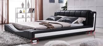 White modern platform bed Diy Upholstered Platform Nib King Modern Black And White Platform Bed Offerup Nib King Modern Black And White Platform Bed For Sale In Louisville