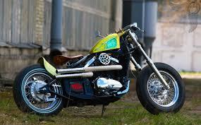 kawasaki 800 vulcan v twin bobber by dozer garage bikermetric