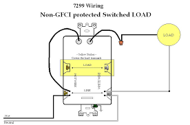 how do i wire 3 way gfci combo switch outlet (x leviton Wiring Gfci To A Lamp Post wir 7299 switched load is not gfci protected jpg Wiring a Switch to a Light Fixture