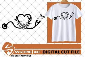 Free vectors and icons in svg format. Heart Stethoscope Svg Doctor Svg Nurse Hero Svg Flower 564739 Cut Files Design Bundles
