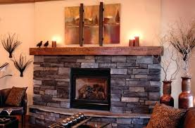 rustic wood mantels stone fireplaces reclaimed fireplace