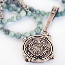 french kande 28 sea mist jade chain w cuvee medallion sc615z christopher park gallery