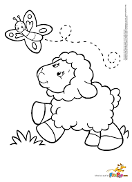 Lamb Coloring Page Letter L Is For Lamb Coloring Page Free