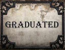 Image result for graduated word