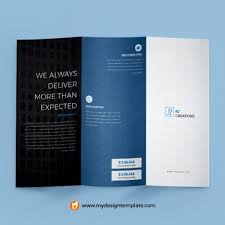 Tri Fold Brochure Specs Trifold Brochure Size Archives My Design Template