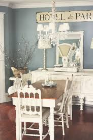 Dinning Rooms:White Chic Dining Room With Small Dining Table Also White  Dining Chairs Under