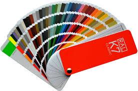 Ral Colour Chart: Amazon.co.uk