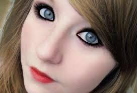 how to do cute emo makeup emo black eye