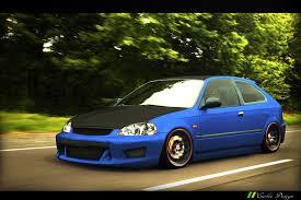 honda civic hatchback modified. honda civic hatchback 2000 modified 3995 by