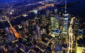 New York City At Night 8K UHD Wallpaper