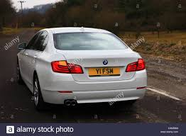 2011 BMW 5-Series 4-Door Automatic Saloon in white with Private ...