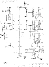 schematic 8088 ireleast info an intel 8088 maximum mode single board computer system a wiring schematic