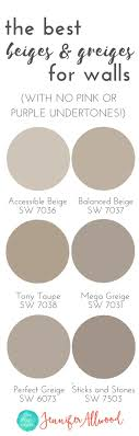 the best Beige and Greige Wall Paints for walls Magic Brush Jennifer  Allwood's Top 50 Wall Paint Colors Paint Color Ideas Best Neutral Hues  Neutral Interior ...