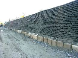concrete bags retaining walls concrete bags retaining walls concrete bag retaining wall concrete sack retaining wall