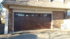 garage door wood lookWood Look Garage Doors
