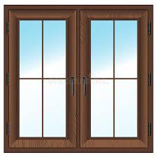 double white door texture. Download Wooden Closed Double Window. Vector Illustration. Stock Illustration - Of Indoor, White Door Texture