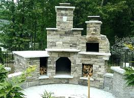 outdoor fireplace pizza oven the plaza family wood fired in new diy cost out outdoor fireplace project within diy