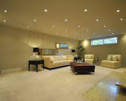 contemporary basement lighting with fair layout ideas basement lighting options 1