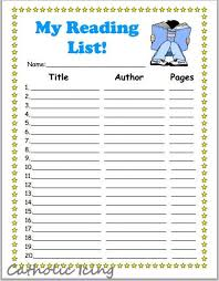Book Reading Chart Printable Reading Charts For Kids 20 Book Challenge 40