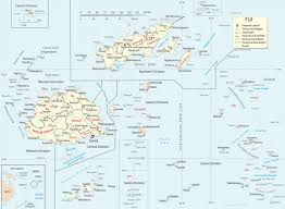 map fiji islands suva