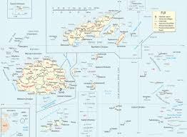 map fiji islands suva
