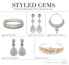 v119 expert style tips wedding jewelry by theme by urvi tejani Wedding Jewelry Tejani styled gems urvi tejani of tejani jewelry shares the latest jewelry trends weddingbee jewelry tejani