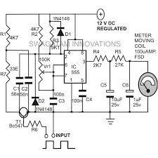 how to build a home made frequency meter includes schematic and home made frequency meter ic 555 forms