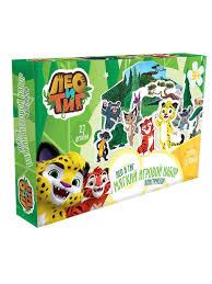 <b>Игровой набор Лео и</b> Тиг, 7 героев мультсериала ЛЕО и ТИГ ...