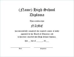 High School Certificate Template Girlfestbayarea Org