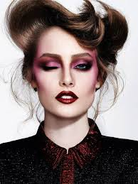 thairine garcia by nicole heiniger for trailer brasil magazine inspiration makeups color binations makeup photography fantasy