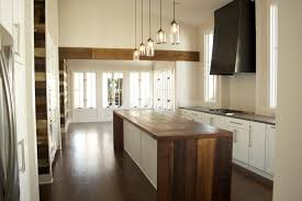 The Advantages Of Pendant Lights For Kitchen Island : Simple Modern Kitchen  Idea Using White Kitchen