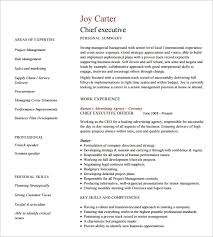 Sample Of Executive Resumes 16 Executive Resume Templates Pdf Doc Apple Pages