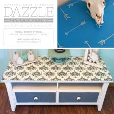 stenciling furniture ideas. Cutting Edge Stencils Shares DIY Stenciled Furniture Makeovers Using Craft Size Stencils. Http:/ Stenciling Ideas N