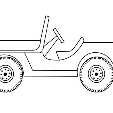 free jeep coloring pages to print within safari jeep coloring page