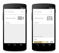 Google Search Commands Google Search On Android Adds Voice Commands For Camera Digital