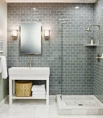subway tile bathrooms on bathroom regarding large subway tile gorgeous the 25 best glass bathroom ideas