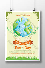 Celebrate Earth Day Environmental Protection Flyer Template